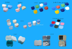 Colores Dental Plastic Container Boxes (I-9)