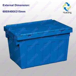 600X400X315mm Plastic Logistic Container pictures & photos