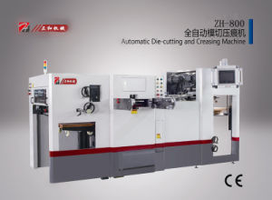 Automatic Flatbed Die Cutter Zh-800 pictures & photos
