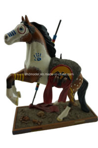 Customized Resin Horse Statue (12 inch) pictures & photos
