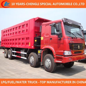 12 Wheels Dump Truck 35t Tipper Truck for Sale pictures & photos