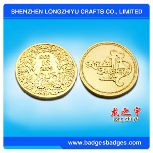 Custom Coins/ Metal Gold Coins/ Custom Silver Coins pictures & photos