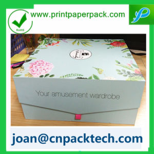 Thick Paper Handmade Rigid with Button Box pictures & photos
