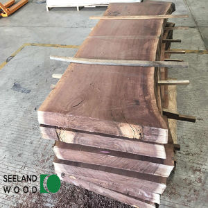 American Walnut Slab for Luxury Furniture (Kiln Dried) pictures & photos