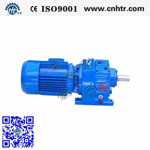 Helical Inline Speed Reducer with Motor (HR Series)