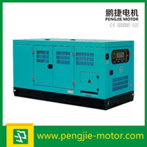 with Perkins 91kw Engine 1104c-44tag2 Silent Diesel Generator for Home Use with Deepsea Control