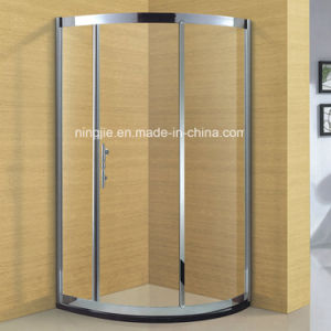 Hotel Bathroom 304 Stainless Steel Frame Shower Cabin (A-8943) pictures & photos