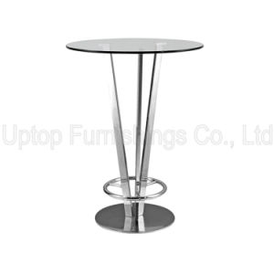 Modern Night Club Glass Top Pied De Table Bistro (SP-BT642) pictures & photos