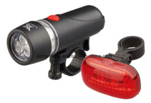 3 LED Bicycle Light Sets (HLT-146) pictures & photos