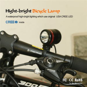 Solar Power Bicycle Head Light USB Rechargeable 350lm Brightness Front Light Hot