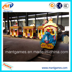 High Quallity Elephant Track Train Amusement Park Equipment China with CE Certificate
