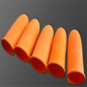 Orange Latex Skidproof ESD Finger Cots (EGS-03) pictures & photos