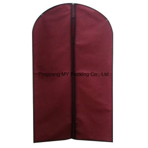 Eco Fold Non Woven Garment Bag for Suit pictures & photos
