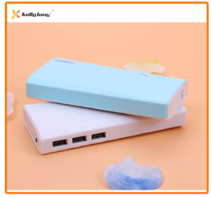 10000mAh Portable Battery Charger External Power Bank with Three Output