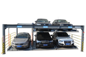 2-Storey Lifting, Lowering and Transverse Parking Equipment