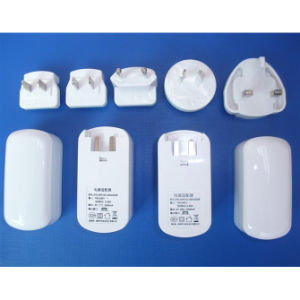 EU Us UK Au Plug Interchangeable Muliti Plug Electrical USB Power Adapter