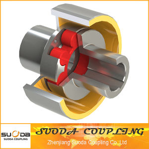 Flexible Plum Blossom Type Elastic Coupling with Brake Wheel pictures & photos
