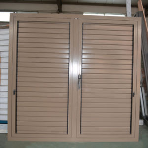 High Quality Powder Coated Aluminum Profile Casement Window & Casement Shutter K03059