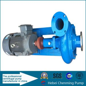 Cast Iron Horizontal Single-Stage Industry Dewater Sewage Water Pump