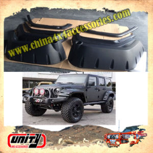 ABS Plastic Wheel Arch Mudguard Car Accessories Products ABS Fender Flares for New Wrangler Jk Parts 2007-2014
