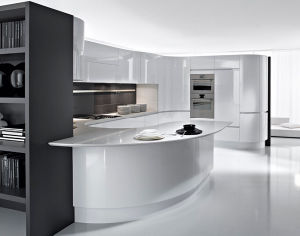 7 Days Delivery White PVC Kitchen Furniture pictures & photos
