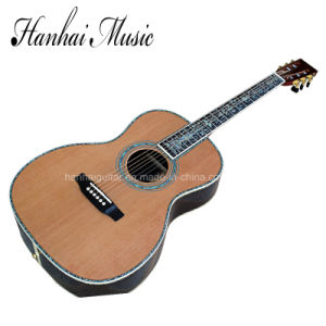 Hanhai Music / 41′′ Acoustic Guitar with Top Solid (00045) pictures & photos
