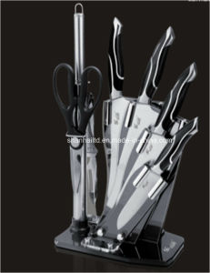 7PCS Casting Stainless Steel Kitchen Knife Set pictures & photos