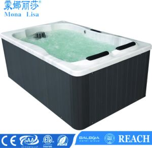 Monalisa Latest Design Outdoor Whirlpool Jacuzzi Bathtub (M-3374) pictures & photos