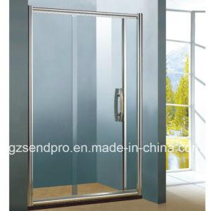 Sliding Walk In Shower Doors.6mm Single Tempered Glass Hotel Walk In Shower Door
