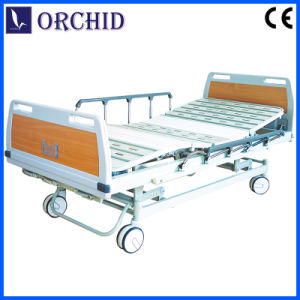 Three Function Hospital Manual Bed with Soft-Join (BCS05-I)