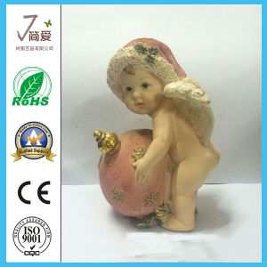 Polyresin Cute Cherub Lovely Angel Figurine for Souvenirs