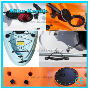 3 Person Not Inflatable Fishing Kayak Sit on Top Plastic Boat for Sale pictures & photos