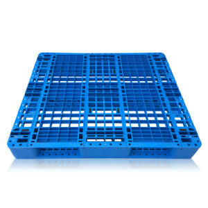 Warehouse Storage Products 1100*1100*155mm HDPE Plastic Pallet Forklift Plastic Tray Wih 3 Runners pictures & photos