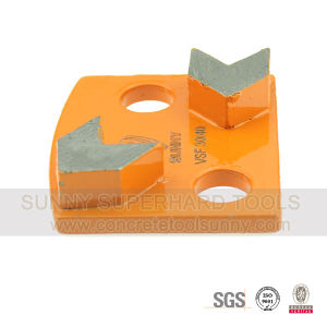 Diamond Floor Grind Disc Tool with Segment Metal Bond pictures & photos