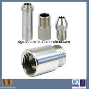 Aluminum CNC Lathe Turning Parts for Machinery Parts (MQ107) pictures & photos