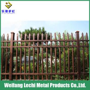 Steel Garden Fence Panel Security Spear Top Edging Border Fencing Barrier