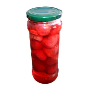 Canned Strawberry in Glass Jar pictures & photos