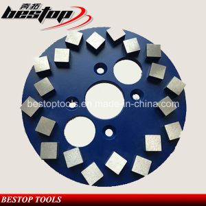 10inch Segmented Blastrac Diamond Metal Grinding Wheel for Concrete pictures & photos