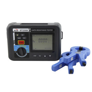 Automatic Frequency Control Earth Ground Resistance Tester