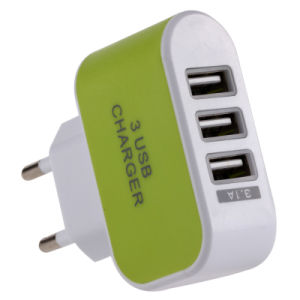 3USB 3.1A American Standard / European Standard Charger pictures & photos