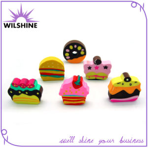 Rubber Eraser in Different Designs of Cake for Chindren (ER002) pictures & photos