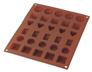 Silicone Ice Cube & Ice Tray & Chocolate Mould FDA&LFGB (SY6512) pictures & photos