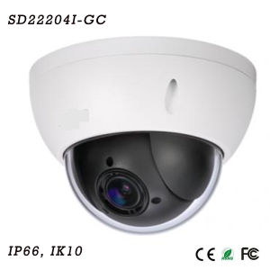 2 Megapixel 1080P Mini Hdcvi PTZ Dome Camera{SD22204I-Gc}