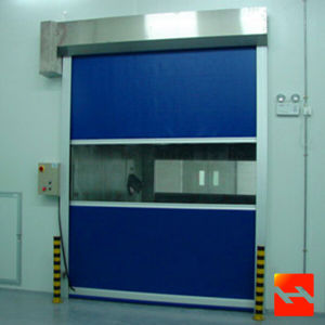 Rapid Rolling Shutter Door Gate Roller PVC Shutter Door (HF-20) pictures & photos