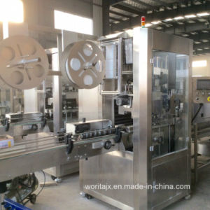 Sleeve Bottle Labeling Machine (WD-S350) pictures & photos