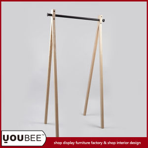 Folding Clothes Display Shelf/Stand/Rack for Clothes Store Interior Decoration