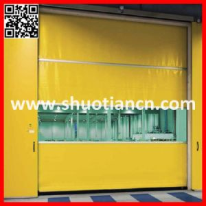 PVC Soft High Speed Door Roll up Door (ST-001) pictures & photos