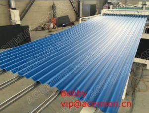 China Plastic Corrugated Roof Tile Roll Forming Machine