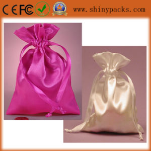 New Design Customized Reusable Satin Jewellery Bag