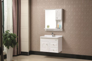 Deluxe Solid Wood Bathroom Vanity Cabinet